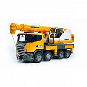Автокран Scania-Liebherr функциональный, Bruder 03570 Харків