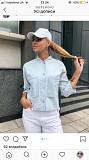 Джинсовая рубашка Гуляйполе
