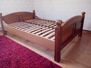 Ліжко деревяне з дуба двохспалне Могилів-Подільський