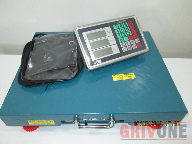 Весы беспроводные Олимп TCS-R2 Wi-Fi 300кг 500х400мм Полтава - зображення 1