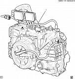 АКПП в сборе Chevrolet Volt 11-15 24262835 Тернопіль