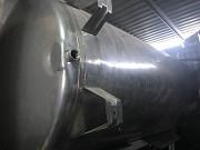 Емкость из нержавеющей стали цилиндрическая AISI 3 1м3 Івано-Франківськ