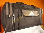 Сумка спортивная дорожная Adidas 273 регулируем объем серо-зеленая Полтава