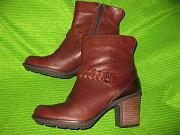 Ботинки Clarks р.37-38(р.4,5D) стелька 25см. Кожа Дніпро