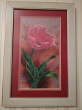 Картина вишита бісером «Тюльпан». Фастів