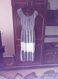 Длинное хб платье с комбинированным рисунком 48 р Гайворон