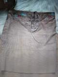 Юбка замшевая с вышивкой Житомир
