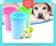 NEW!SOFT GENTLE•Лапомойка•Стакан для мытья лап Собак и Котов 15|10 см Кривий Ріг