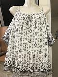 блуза с открытыми плечами/кофточка/футболка удлиненная 44-46-48р Нові Санжари
