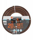 """Шланг с комплектом для полива Gardena HighFlex 13 мм (1/2""""), 20 м Set (18064-20.000.00) Запоріжжя"""