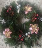 Вязані новорічні віночки Богородчани