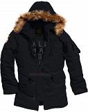 Куртка аляска Altitude Parka Alpha Industries (черная) Винница