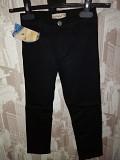 Брюки джинсы чёрные для мальчиков Первомайський