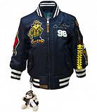 Детская летная куртка Kid's MA-1 Champs Bomber with hoodie (синяя) Київ