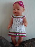 Одежда для кукол беби борн платья Рівне