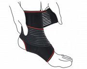 Бандаж на голеностопный сустав с дополнительной фиксацией R7202 Луцьк