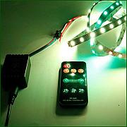 Светодиодный контроллер SP-106E с музыкальной активацией, RF пульт, для WS2811, WS2812, WS2813 Ямпіль