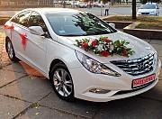 Hyundai Sonata белая 2013 Київ