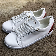 Кеды Louis Vuitton Frontrow White/Red Запоріжжя