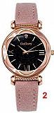 Gogoey 4417 кварцевые женские часы с кожаным ремешком Київ