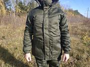 Купити зручний робочий бушлат на зиму хакі олива на флісі дешево військовий одяг для чоловіків Ковель