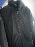 Молодіжна чоловіча куртка чорного коляру Радомишль