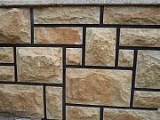 Плитка со сколом из камня песчаника Хрустальный