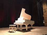 Белый рояль концертный полный Одеса