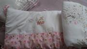 бортик мягкий для детской кроватки Суми