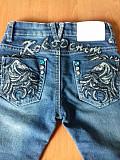 Джинсы. Джинсы для девочки. Модные джинсы. Вышивка. Стразы. Очаків