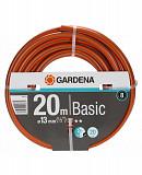 """Шланг Gardena Basic 13 мм (1/2""""), 20 м (18123-29.000.00) Запоріжжя"""