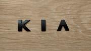 Металлические буквы KIA , киа на кузов авто Київ