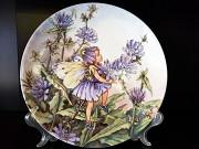 Продам фарфоровые, декоративные, английские тарелки с цветами и феями. Одеса