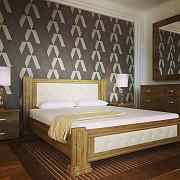 """Ліжко дерев""""яне 160/200 Червоноград"""