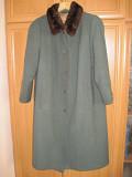 Пальто жіноче зимове (шерсть 100%) б.у., розм 50-54 Луцк