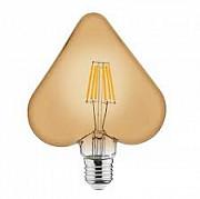 """Лампа світлодіодна """"RUSTIC HEART-6"""" 6W Filament LED E27 Тернопіль"""
