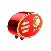 Колонка Bluetooth Hoco BS25 Time Retro 1200 mAh 5 Вт Red (MB1660h) Київ