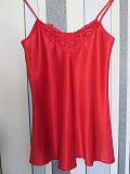 Женский атласный комплект с шортами, размер М Одеса