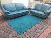 Отличный комплект кожаной мебели 3+2 из Германии