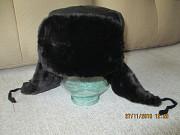 мужская кожанная шапка Черкаси