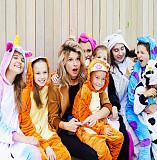 Кигуруми Пижама (взрослые, детские) Вишневе
