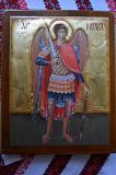 Икона на дереве Архангел Михаил Київ