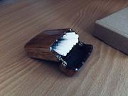 Портсигар из дерева на 20 сигарет King Size/Цвет светлый орех/Лот №23 Козова