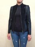 Женский кожаный пиджак Одеса