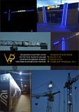 Подсветка башенного крана дюралайтом, Підсвітка будівельних кранів! Київ