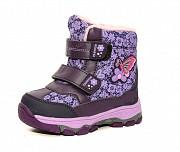 Термо ботинки для девочки (фиолетовые) Дніпро
