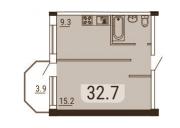 Успейте! Лучший вариант на Черёмушках!1-ком. квартира в новом доме с АОГВ Одеса