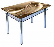 Стіл скляний, фото абстракція Вінниця