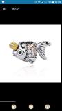 Шарм золотая рыбка Pandora Бровари