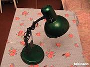 Лампа настольная (Новая ). Метал. Киев. Вишнёвое. Украина. Київ